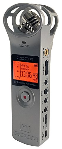 ZOOM H1 Handy Portable Digital Recorder (Silver)