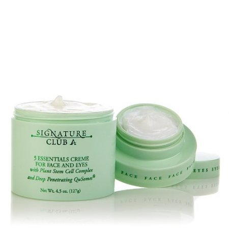 Skin Care Signature Club (Signature Club A 5 Essentials Creme for Face & Eyes with Plant Stem Cell Complex)