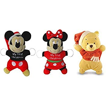 Kids Preferred Comfort Plush Toy, Mickey/Minnie/Pooh