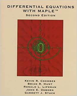 Book Differential Equations with Maple (Mathematics)