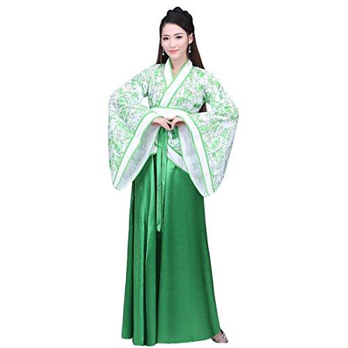 Ez-sofei Women's Ancient Chinese Traditional Hanfu Dress Han Dynasty Cosplay Costume (XL, -