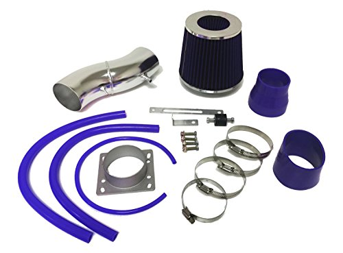 1991-1999 Nissan Sentra and 1993-1997 Altima and 1991-2002 Infiniti G20 all Models Air Intake Filter Kit System (Blue Filter & Accessories)