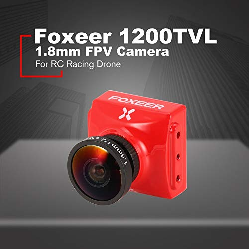 Foxeer Falkor FPV Camera 1.8/2.5mm 1200TVL 1/3 CMOS 4:3/16:9 PAL/NTSC Switchable G-WDR OSD For RC Racing Drone❤️