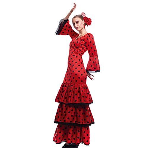 Disfraz Flamenca Mujer (Talla M) (+ Tallas) Carnaval Mundo: Amazon ...