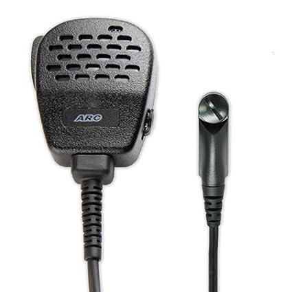 Amazon com: ARC S11036 Heavy Duty S11 Speaker Mic for Harris M/A-COM