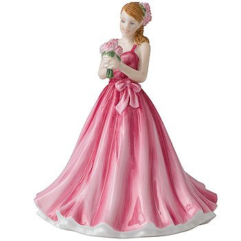 Royal Doulton Birthday Figurine (Royal Doulton Flower of the Month May Peony Figurine)