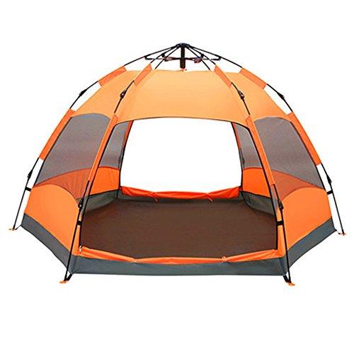 幸福遺棄された直面するマ?チョン テント 2-8人キャンプテント - ブルー (色 : Cartoon)