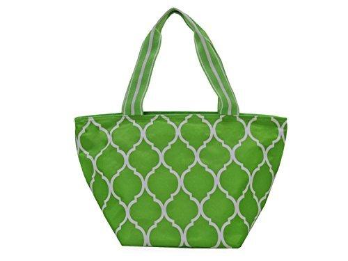tomamos a los clientes como nuestro dios All All All For Color Lime Quatrefoil Lunch Bag by All For Color  Envio gratis en todas las ordenes