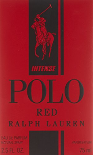 Ralph Lauren Polo Red Intense By Ralph Lauren for Men Eau De Parfum Spray 2.5 Oz, 2.5 Fluid Ounce