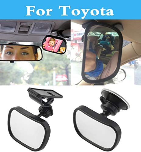 Pukido Car Rear Seat View Mirror Baby Child Baby Monitor Safety for Toyota Corolla Rumion Corolla Runx FJ Cruiser Fortuner GT86 Harrier