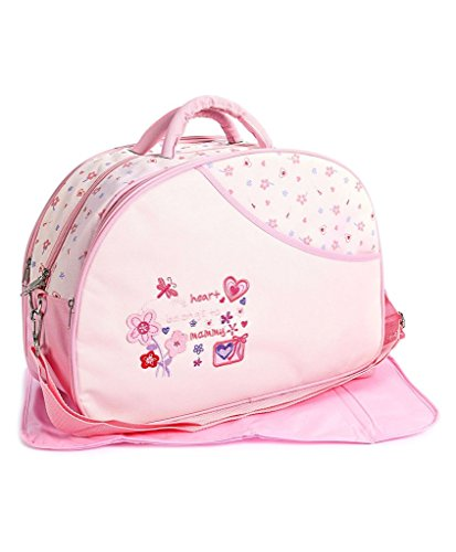 Offspring Outing Mama Shoulder Diaper Bag  Pink