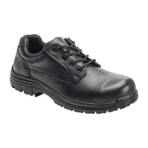 Composite Toe Eh Oxford (Avenger Mens Comp Toe EH Work Oxford M Black Leather Shoes 11.5 M)