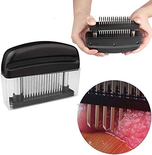OLMITA Fleisch Hammer, 48 Blades Nadel Fleisch Werkzeug Tenderizer Maschine Edelstahl-Messer Fleisch Beaf Steak Mallet Hammer Pounder Kochen Küchenhelfer