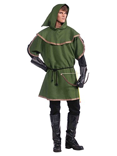 (Forum Novelties Men's Sherwood Forest Archer Costume, Multi, One)