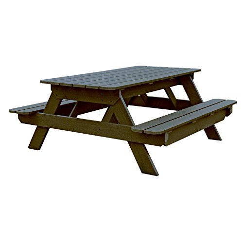 Highwood Liberty Picnic Table, Mocha