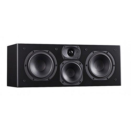 Aperion Audio Intimus 5C 5.25-Inch Center Channel Speaker (Single Stealth Black)