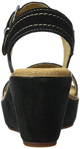 Sde Bout Aisley Orchid Sandales Noir Clarks Femme Ouvert black OqHAxfw8
