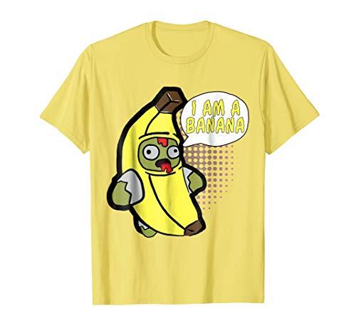 I'm A Banana Costume Funny Food Halloween Shirt Adults Kids -