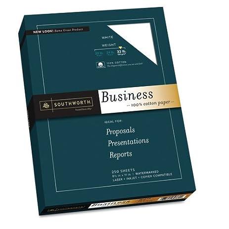 Business Paper,Heavyweight,32 Lb., 100% Cotton, 8 1