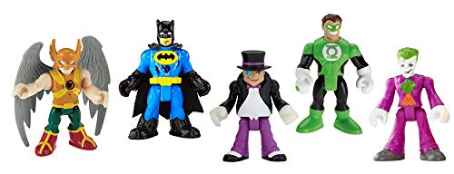 Fisher-Price Imaginext DC Super Friends, Heroes & Villains Pack -