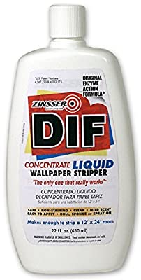 Rust-Oleum 2422 DIF Wallpaper Stripper Concentrate, 22-Ounce