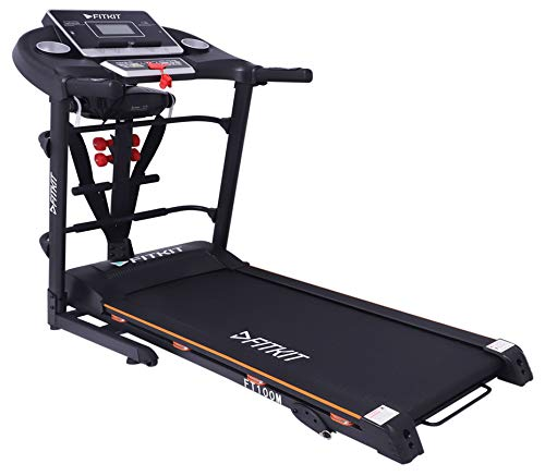 Fitkit FT100M 1.75HP (3.25 HP Peak) Motorized Treadmill with Multifunction (Free Installation)