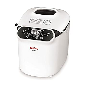 Tefal PF310138 Color blanco - Panificadora (Color blanco, 1 kg, Masa, 500 g, LCD): Amazon.es: Hogar