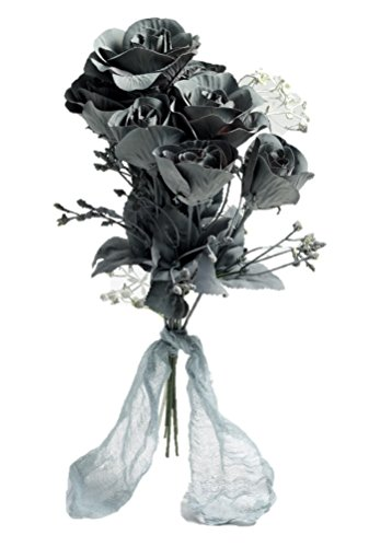 Forum Novelties 70761 Ghost Flower Boo-Quet, One Size, Standard, Gray, Pack of 1