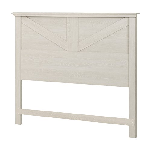 (South Shore Avilla Headboard, Full/Queen 54/60-Inch, Winter Oak)