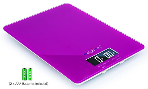 Weighmax GM25 Tempered Glass Digital Mailing and Food Kitche
