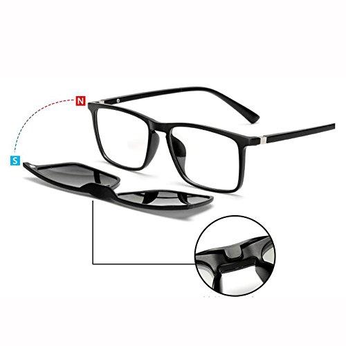 De UV Protección de sol De Manejar con Luz Hombre Miopía gafas Lentes Equipado 400 Polarizada De Color 3D ZX Gafas Visión Sra Nocturna Acortar ZX Hoja 56 masculinas Gafas 1 Sol 61 1 Puede Ser vzfHxnxEq