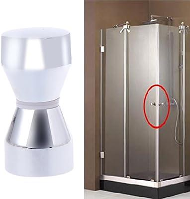 manyo 1 pieza baño puerta asas, aleación de aluminio, 6 cm de ...