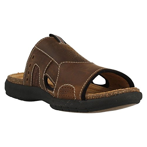 Unbryman Easy Sandals Men's Style Clarks Brown BqnztP6w