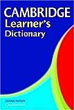 Cambridge Learner's Dictionary, Cambridge University Press, 0521543800