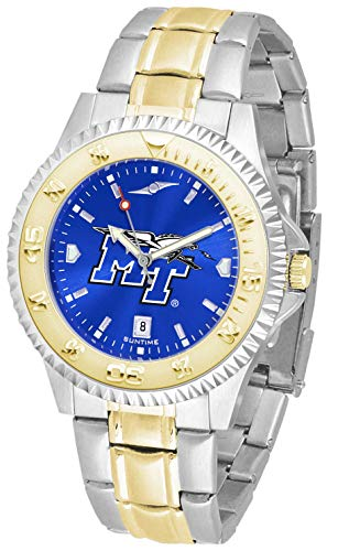 Middle Tenn. State Blue Raiders - Competitor Two - Tone - Watch Executive Mens Raiders