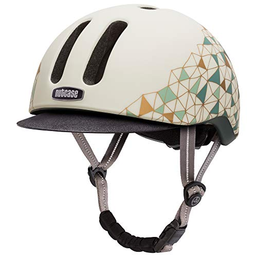 Nutcase - Metroride Bike Helmet for Adults, Geo Net Matte, Large/X-Large