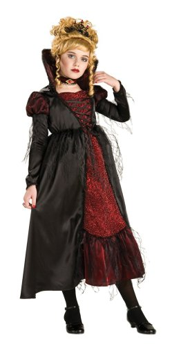 Rubie's Costume Co - Transylvanian Vampiress Child Costume - Small (4-6) (Vampiress Makeup)