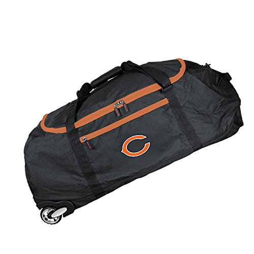 NFL Chicago Bears Crusader Collapsible Duffel, 36-inches from Denco