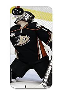 New Hard Hard Case Premium Iphone 4/4s Skin Case Cover(anaheim Ducks Nhl Hockey (66) ) For Christmas Gift