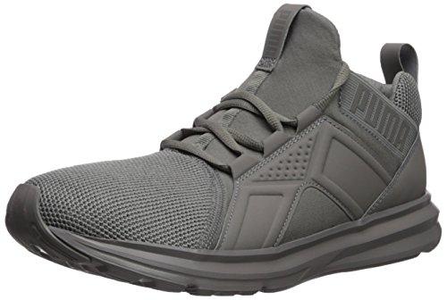 PUMA Men's Enzo Mesh Sneaker, steel gray, 10.5 M US