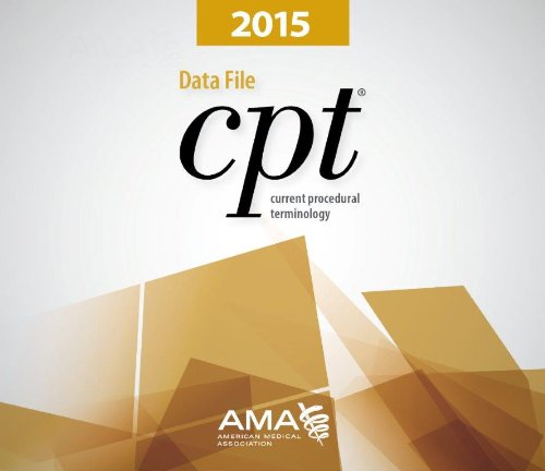 CPT 2015 Data File Single User by American Medical Association Press