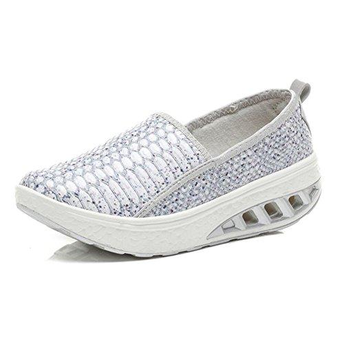 o Primavera Slip Zapatos de y Conducci Oto Ons PU mujer Mocasines wqwTaX1