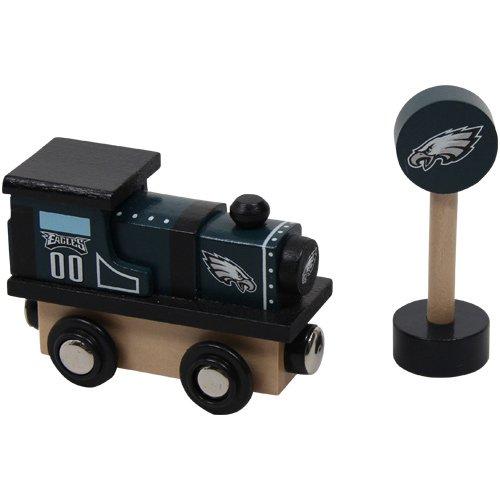 Promotional Partners Worldwide NFL Philadelphia Eagles Wood Train (Wooden Nfl Football)