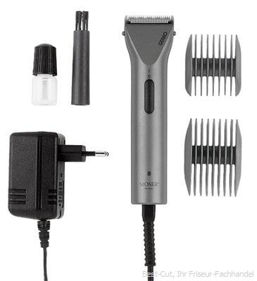 Moser Genio Mini 1565 Professional Cordless Hair Trimmer 0.7mm Blade