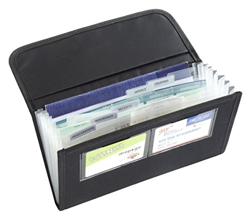 (High Road Glove Box Organizer with Expandable Files)