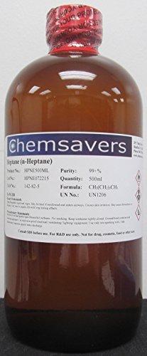 Heptane (n-Heptane), 99+%, 500ml (16oz)