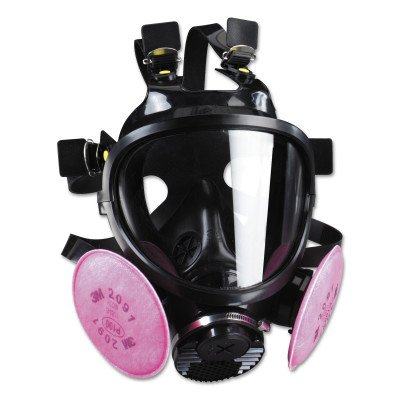 3M Safety 7800S-M 7800S Series Silicone Full Facepiece Respiratory Protection, Medium