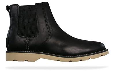 7e8952d6c902 Sperry Shipyard Chelsea Mens Leather Boots - Black - SIZE UK 9 ...