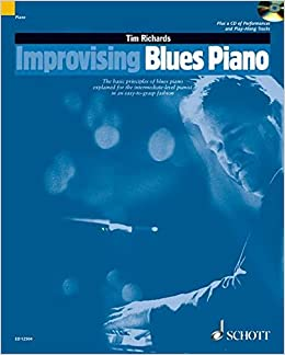Tim richards improvising blues piano