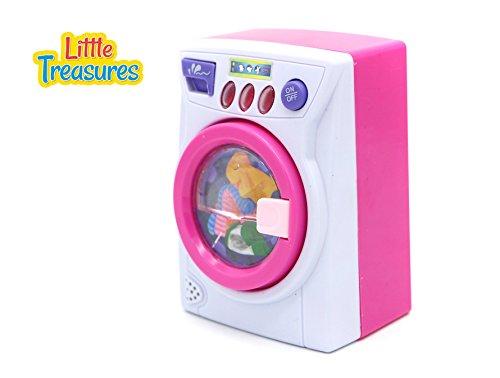 Price comparison product image Little Treasures Mini Pretend Play Washing Machine